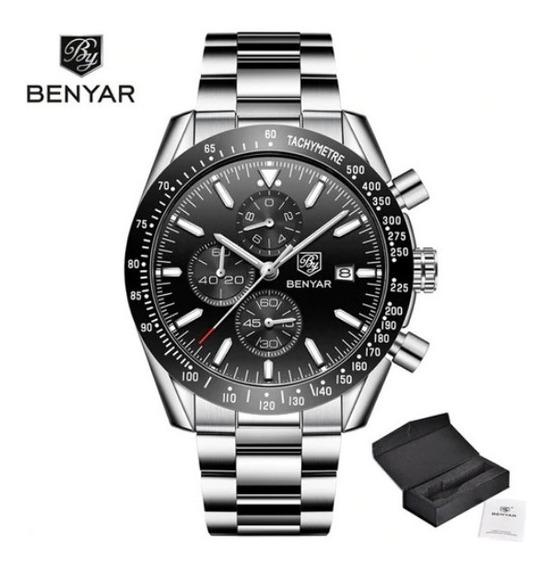 Relógio Benyar 5140 Masculino Preto