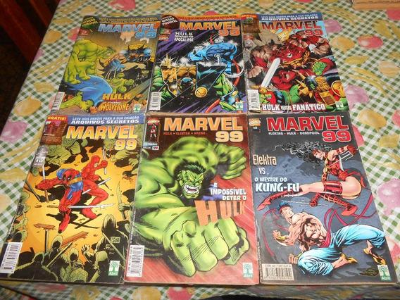 Hq Marvel 99 Do Numero 7 Ao 12.