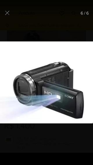 Filmadoura Sony Com Projetor Integrado