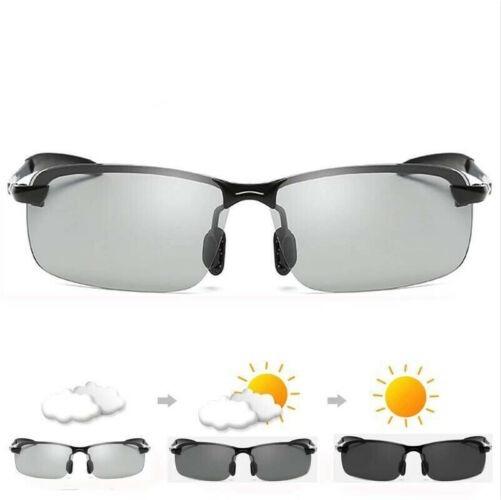 Óculos Polarizado Descanso Sol Uv400 Lentes Fotocromática