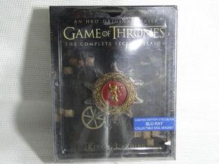 Game Of Thrones Juego Tronos Temporada 2 Steelbook Blu-ray