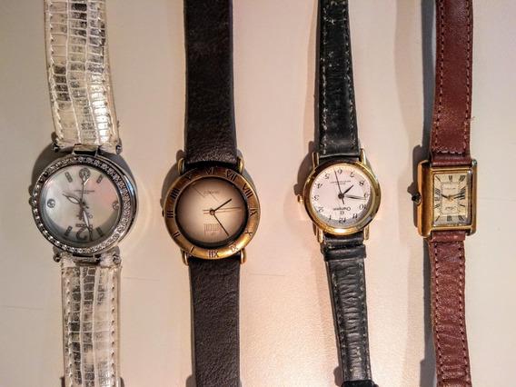 Lote Coleção Lindos Relógios Feminino Champion, Dumont Sorel