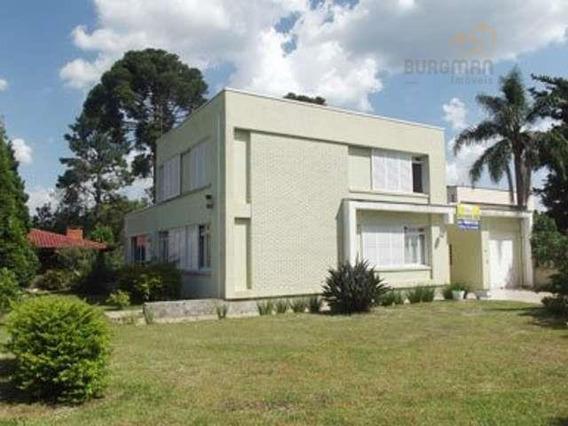 Excelente Casa Alto Padrão Em Campo Largo - Ca0021