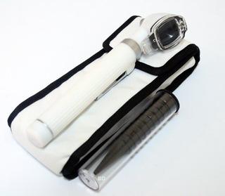 Bdeals Otoscopio De Fibra Óptica Blanca Mini Importado U S A