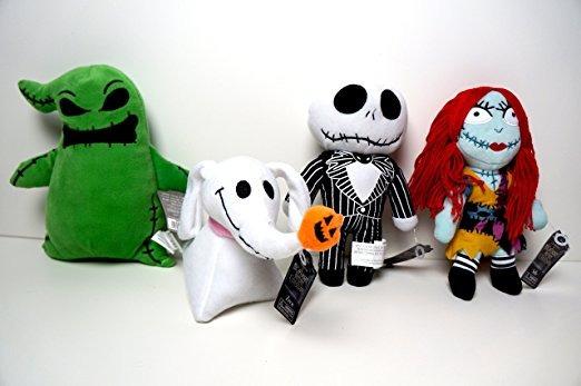 Pesadilla Antes De Navidad Juego De 4 De Halloween De Peluch