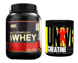 Whey Gold Standard 907g Optimum C Creatina 200g Universal