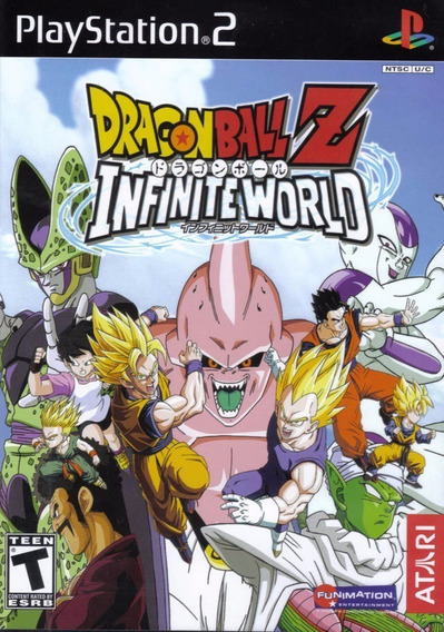 Dragon Ball Z Infinite World Ps2 Original Playstation 2