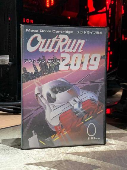 Outrun 2019 Cartucho Mega Drive Japonês Original Raro X Sega
