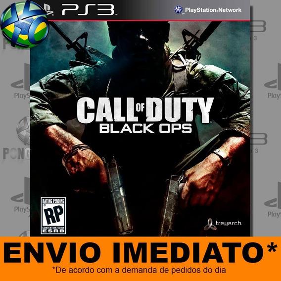 Jogo Ps3 Call Of Duty Black Ops 1 Com Dlc Psn Play 3