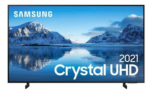 Imagem 1 de 7 de Smart Tv 50 Polegadas Crystal Uhd 4k 50au8000 Slim Samsung