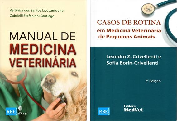 Manual De Medicina Veterinária + Casos De Rotina Veterinária