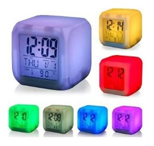 Reloj Con Luces.