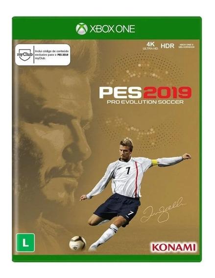 Jogo Pes 2019 Edição Especial David Beckham Xbox One Novo