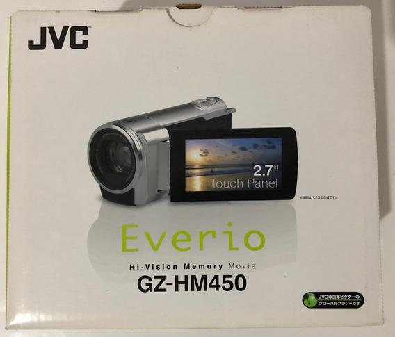 Filmadora Jvc Everio Gz-hm450 Full Hi-vision 1920x1080 Preta