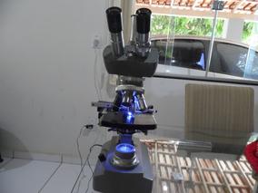 Microscópio Kiowa, Modelo Tókio, Led, Trinocular.
