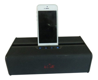 Parlante Portátil Bluetooth Para Celular Negro Xp Audio Wjc2