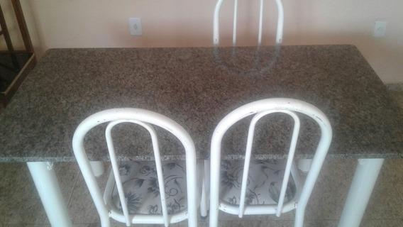 Mesa De Cozinha Com Tampo De Granito