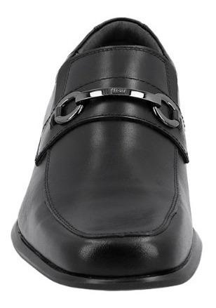 Mocasin Caballero Negro Flexi F40206