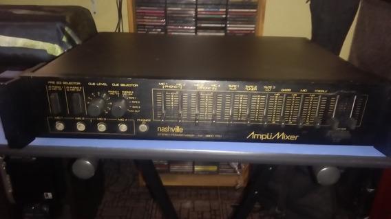 Amplificador Nashville Nx3600 Pro - Raridade !