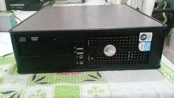 Cpu Dell Optiplex 745, 2gb Ram, 160hd, Windows 7, Tenho 17
