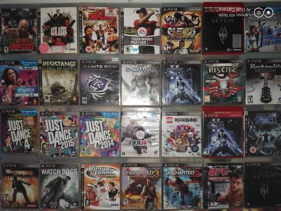 Pacote De 6 Jogos Para Ps3 Playstation Midia Fisica Original