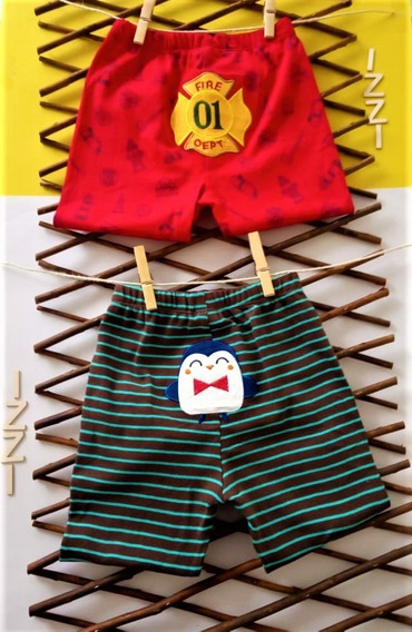 Paquete X 2 Pantalones Rojo Y Cafe