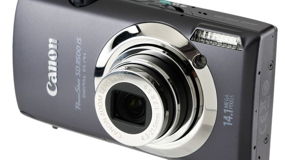 Camera Powershot Canon Sd 3500is Touch Screen