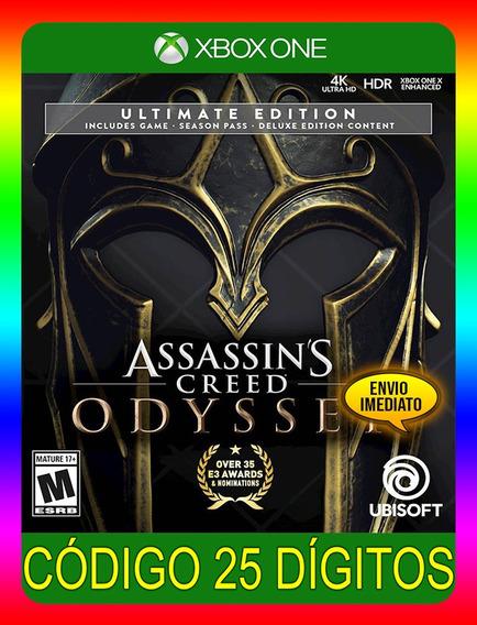 Assassins Creed Odyssey Ultimate Xbox - 25 Díg (envio Já)
