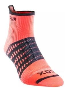 Medias Compresión Graduada Sox ® 15 - 20 Doble Capa Running Ciclismo Futbol Fitness