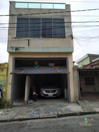 Imagem 1 de 21 de Galpão Comercial Com Residência - Ga0007