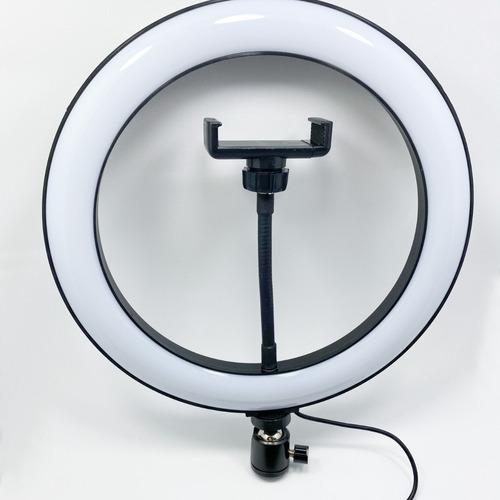 Imagem 1 de 2 de Ring Light Led Anel 13 Polegadas Com Tripé.