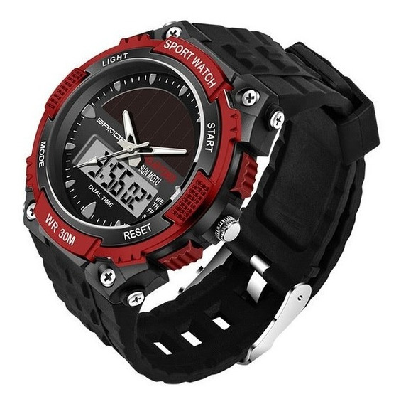 Relojes Solar Hombre Tipo Militar Sport Navy Seal 4 Colores