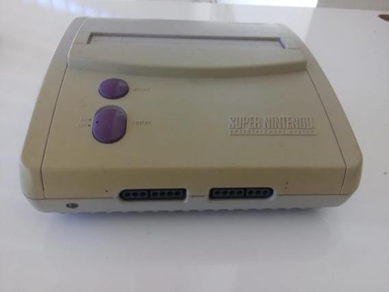 Super Nintendo Snes Baby Só O Videogame !
