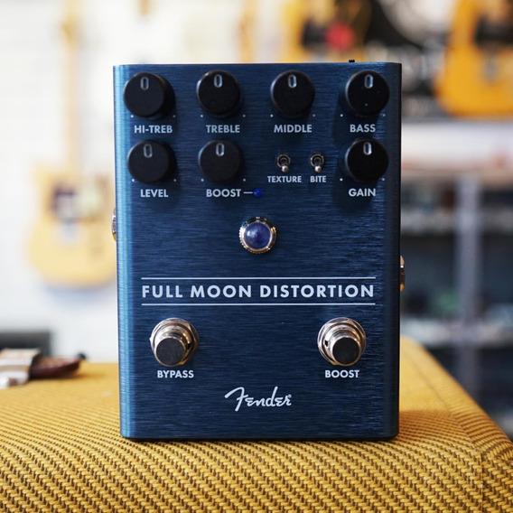 Pedal Fender Para Guitarra Full Moon Distortion