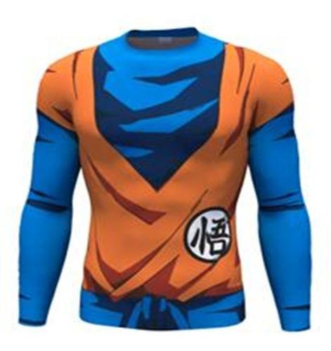 Camiseta De Compresión Coolmax - Dragon Ball Z - Goku