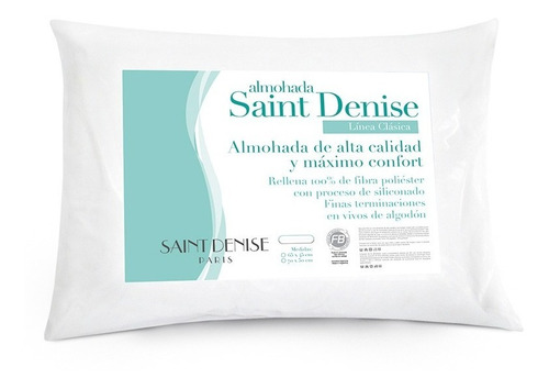 Pack X2 Almohada Saint Denise 70 X 50 Cm Vellon Siliconado