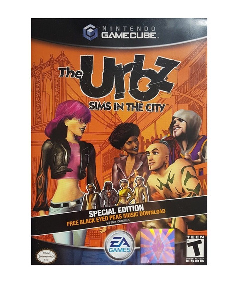 Game Nintendo Gamecube The Urbz Sims In The City