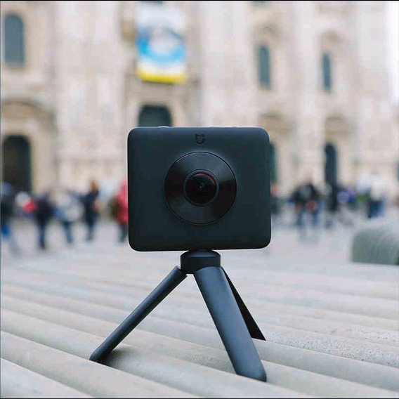 Camera Xiaomi Prova Dagua 360 Estabilizador De 6-axis 16mp