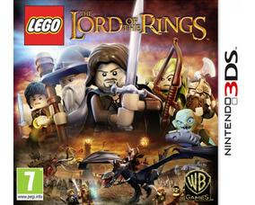 Lego Lord Of The Rings 3ds Mídia Física Lacrado