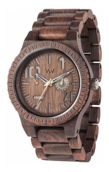 Relógio Wewood Oblivio Chocolate