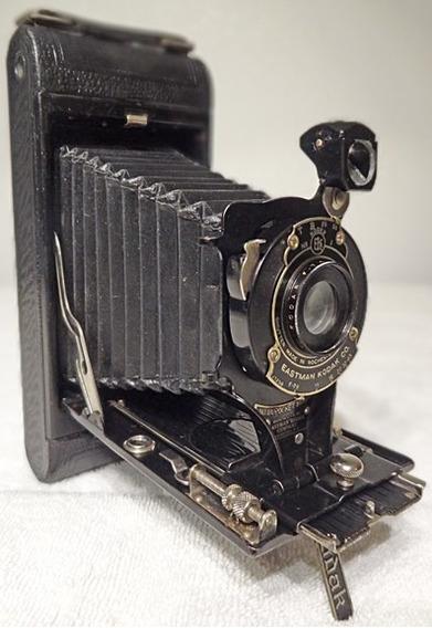 Maquina Fotografica Antiga Eastman Kodak N1 Pocket Ano 1922
