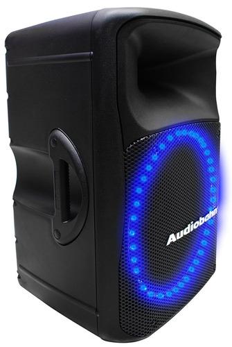 Bafle Amplificado Audiobah Leds Audioritmicos 550w Rms Xaris