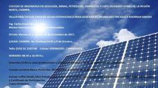 Taller Práctico De Energía Solar Fotovoltaica