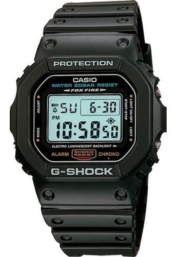 Relógio Casio G-shock Dw-5600e-1vdr Resistente A Choques Nf