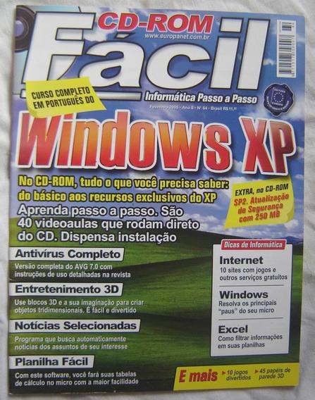Revista Facil Nº64 Passo A Passo - Windows Xp.