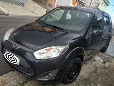 Ford Fiesta Se Preto Motor 1.0 Flex Completo Ano 2014