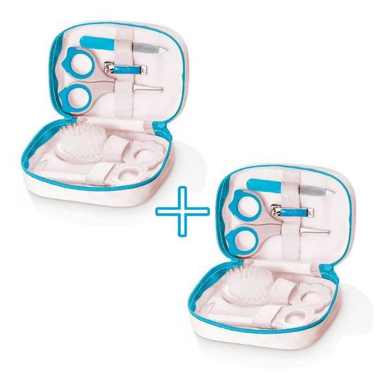2 Kit Pra Bebe Menino Higienico Para Levar Bolsa Maternidade
