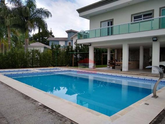 Casa Com 6 Dormitórios À Venda, 658 M² Por R$ 4.600.000 - Patrimônio Do Carmo - São Roque/sp - Ca0873