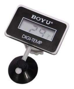 Termometro Digital Aquario Boyu Bt-10 Submersivel C/ Bateria