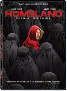 Dvd: Homeland Temp 4 Original *por Encargo*